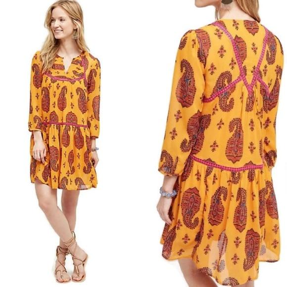 3e6625958de3 Anthropologie Dresses & Skirts - Anthropologie Holding Horses Betony Swing  Dress